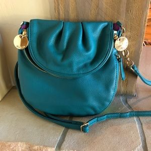 Turquoise Blue crossbody purse